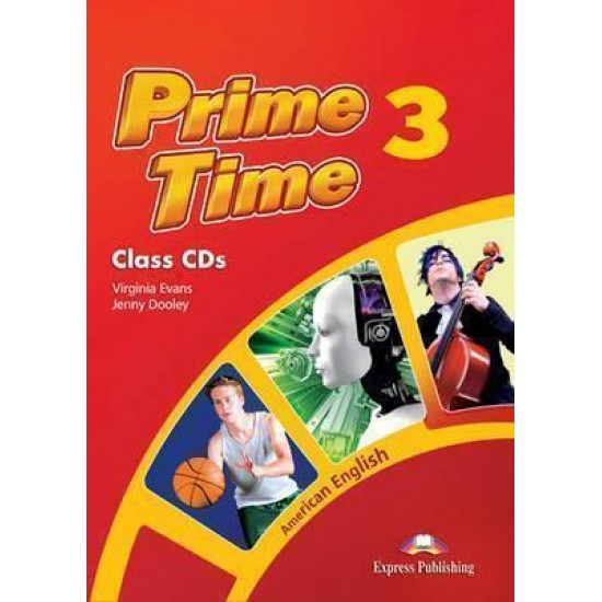 PRIME TIME 3 CD CLASS (3) AMERICAN EDITION