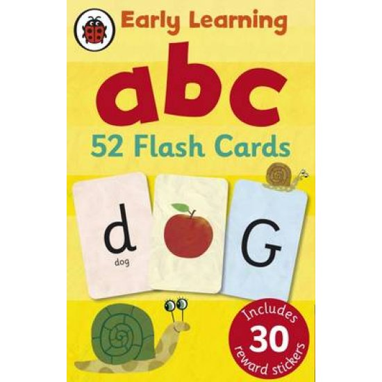 EARLY LEARNING : ABC FLASH CARDS LADYBIRD MINIS