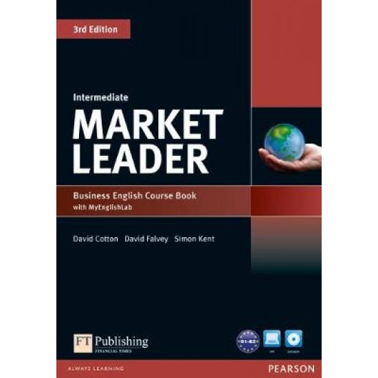 MARKET LEADER INTERMEDIATE SB (+ DVD ROM + MY LAB PACK) 3RD ED