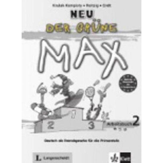 DER GRUENE MAX 2 ARBEITSBUCH (+ CD) NEU