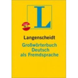 LANGENSCHEIDT GROSSWOERTERBUCH DEUTSCH ALS FREMDSPRACHE DEUTSCH-DEUTSCH TASCHENBUCH