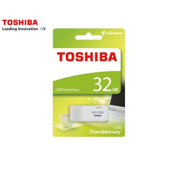 TOSHIBA FLASH DRIVE USB 2.0 32GB HAYABUSA U202 ΑΣΠΡΟ 400127
